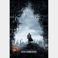Star Trek Into Darkness [ 4k UHD ]   Vudu or iTunes   not MoviesAnywhere Title