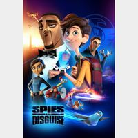 Spies in Disguise [ 4k UHD ] ports MoviesAnywhere/Vudu | iTunes code