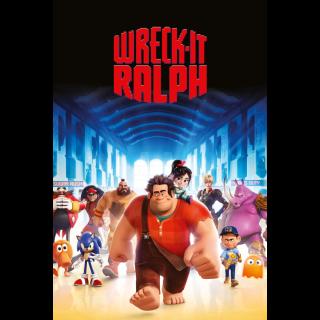 Wreck-It Ralph | 4k | MA/VUDU-redeem | ports all providers
