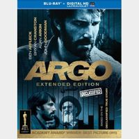 ARGO Extended Cut | RARE | [ HDx ] MoviesAnywhere Code | ports all providers