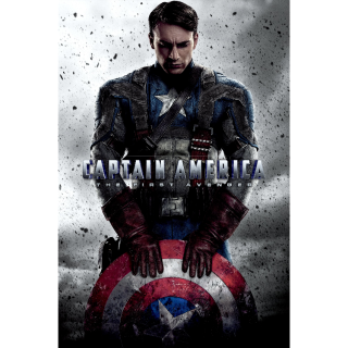 Captain America: The First Avenger | HDx | MA/VUDU-redeem | ports all providers