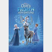 Olaf's Frozen Adventure  plus 6 Disney Tales [ HD ] ports MoviesAnywhere /Vudu   GooglePlay Code