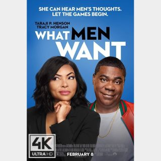 What Men Want 🔥🆓🔥| 4K UHD  🇺🇸 iTunes code | does not port MoviesAnywhere