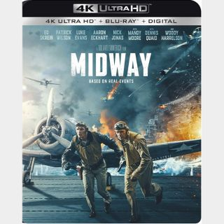 Midway🔥🆓🔥| 4K UHD  🇺🇸 iTunes code | does not port MoviesAnywhere
