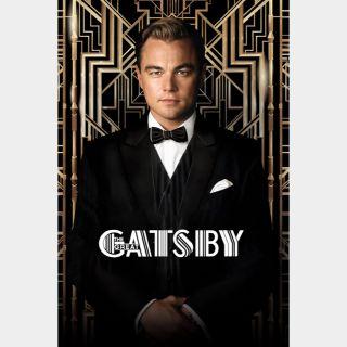The Great Gatsby 🔥💵$1-DEAL🔥 | HDx | MoviesAnywhere | ports Vudu/iTunes/GP/FN |