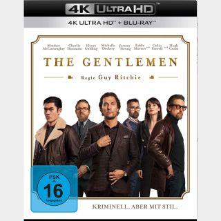 The Gentlemen | 4K UHD | iTunes | do not ports MoviesAnywhere
