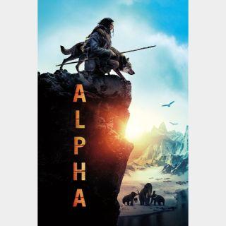 Alpha 🆓🎦 | HD  🇺🇸 MoviesAnywhere | ports Vudu/iTunes/GP |