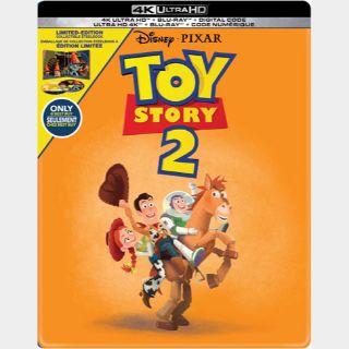 Toy Story 2   4K UHD   MoviesAnywhere   Vudu   ports iTunes/GP/FN  