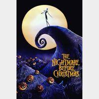 The Nightmare Before Christmas | HDx | GooglePlay | ports MoviesAnywhere