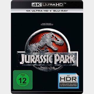 Jurassic Park | 4K UHD | iTunes code | ports Vudu/iTunes/FN/GP |
