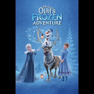 Olaf's Frozen Adventure  plus 6 Disney Tales | HDx | GooglePlay | ports MoviesAnywhere