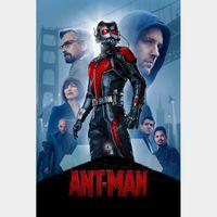 Ant-Man [ HD ] ports MoviesAnywhere /Vudu | US- GooglePlay Code