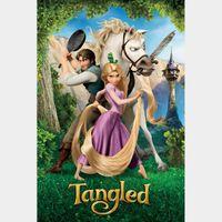 Tangled [ 4k UHD ] US- iTunes code | ports MoviesAnywhere/Vudu