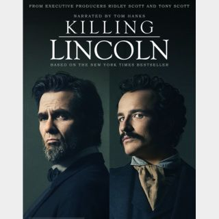 Killing Lincoln 🆓🎦 | HD  🇺🇸 MoviesAnywhere | ports Vudu/iTunes/GP |