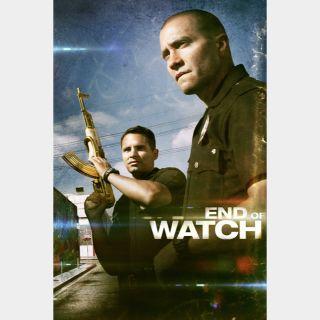 End of Watch 🆓🎦| HD  🇺🇸| iTunes code | ports MoviesAnywhere/Vudu/GP
