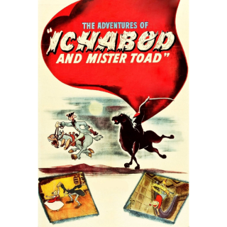 The Adventures of Ichabod and Mr. Toad | HDx | MA/VUDU-redeem | ports