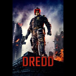 Dredd| HDx | [Vudu-redeem] Instant