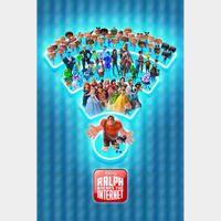 Ralph Breaks the Internet [ 4k UHD ] ports MoviesAnywhere/Vudu | iTunes code