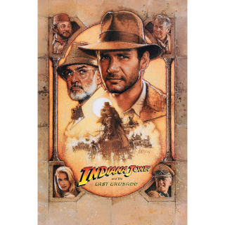 Indiana Jones and the Last Crusade| HDx | Vudu | not MA