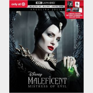 Maleficent: Mistress of Evil | 4K UHD | iTunes code | ports MoviesAnywhere/Vudu