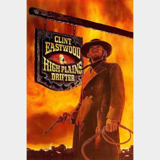 High Plains Drifter  | Classic Flick | HD  🇺🇸| iTunes code | ports MoviesAnywhere/Vudu/GP