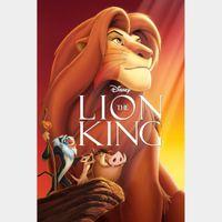 The Lion King [ HD ] ports MoviesAnywhere /Vudu | US- GooglePlay Code