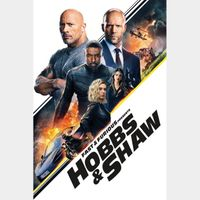 Fast & Furious Presents: Hobbs & Shaw [ 4k UHD ] MoviesAnywhere Code | ports all providers