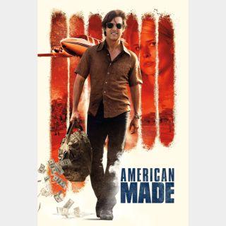 American Made🔥🆓🔥| HD  🇺🇸 MoviesAnywhere | ports Vudu/iTunes/GP |