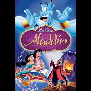 Aladdin | HDx | GooglePlay | ports MoviesAnywhere/Vudu
