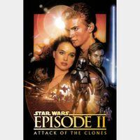 Star Wars: Episode II - Attack of the Clones  [ 4k UHD ] MA/Vudu code | ports all providers