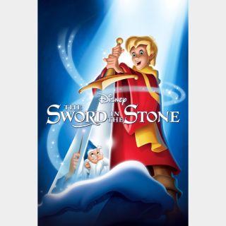 The Sword in the Stone | HDx | GooglePlay | ports MoviesAnywhere /Vudu/iTunes/FN