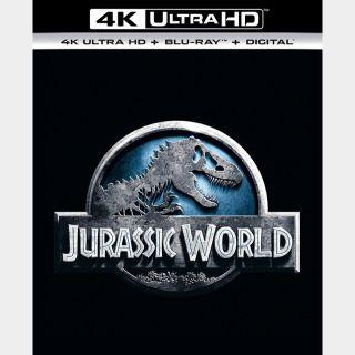 Jurassic World | 4K UHD | iTunes code | ports Vudu/iTunes/FN/GP |
