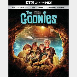 The Goonies 🔥🆓🔥| 4K UHD  🇺🇸 MoviesAnywhere | ports Vudu/iTunes/GP |