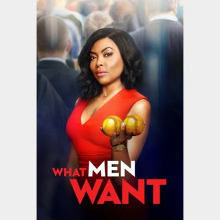 What Men Want 🔥🆓🔥| HDx  🇺🇸 Vudu | does not port MoviesAnywhere