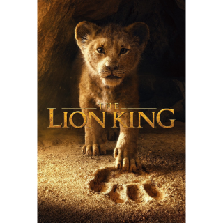 The Lion King | HDx | MA/VUDU-redeem | ports all providers