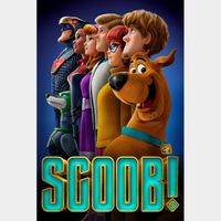 Scoob! | SD | MoviesAnywhere Code | ports all providers