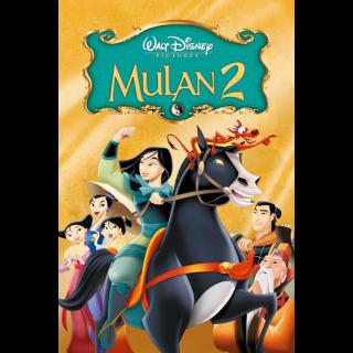 Mulan II| HDx | [GooglePlay/ports(MA)] Instant