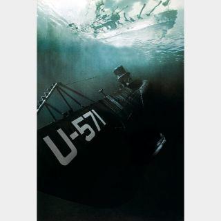 U-571 🆓🎦 | HD  🇺🇸| iTunes code | ports MoviesAnywhere/Vudu/GP