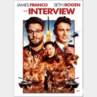 The Interview  🆓🎦| HD  🇺🇸 MoviesAnywhere | ports Vudu/iTunes/GP |