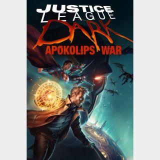 Justice League Dark: Apokolips War 🆓🎦| HD | MoviesAnywhere | ports Vudu/iTunes/GP/FN |