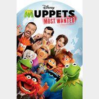 Muppets Most Wanted [ HD ] ports MoviesAnywhere /Vudu | US- GooglePlay Code
