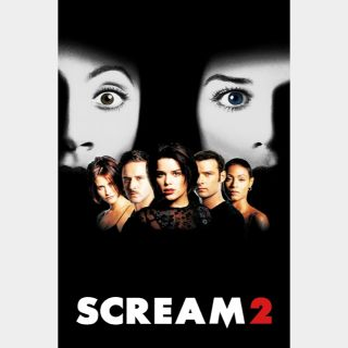 Scream 2 🔥🆓🔥| HDx | Vudu or iTunes | does not port MoviesAnywhere