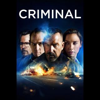 Criminal| HDx | [Vudu-redeem] Instant