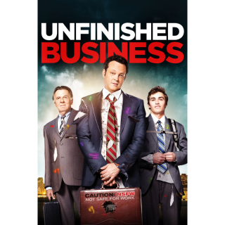 Unfinished Business   HDx   MoviesAnywhere   ports all providers