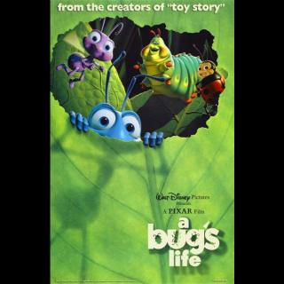 A Bug's Life | HDx | [GooglePlay-redeem (MA)] Instant