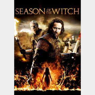 Season of the Witch | SD | iTunes code | does not port MoviesAnywhere