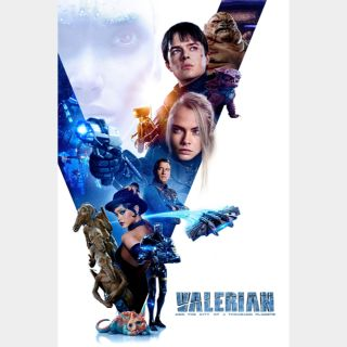 Valerian and the City of a Thousand Planets 🆓🎦| HDx 🇺🇸 Vudu | does not port MoviesAnywhere