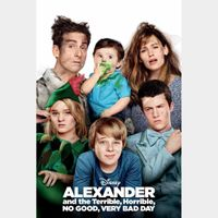 Alexander and the Terrible, Horrible, No Good, Very Bad Day [ HD ] ports MoviesAnywhere /Vudu | US- GooglePlay Code