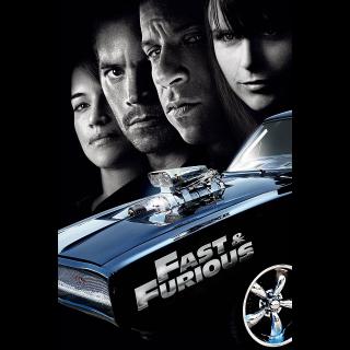 Fast & Furious 4  HDx   [MA-redeem] Instant