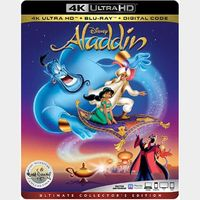 Aladdin  | 4K UHD | iTunes code | ports MoviesAnywhere/Vudu